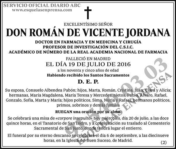 Román de Vicente Jordana